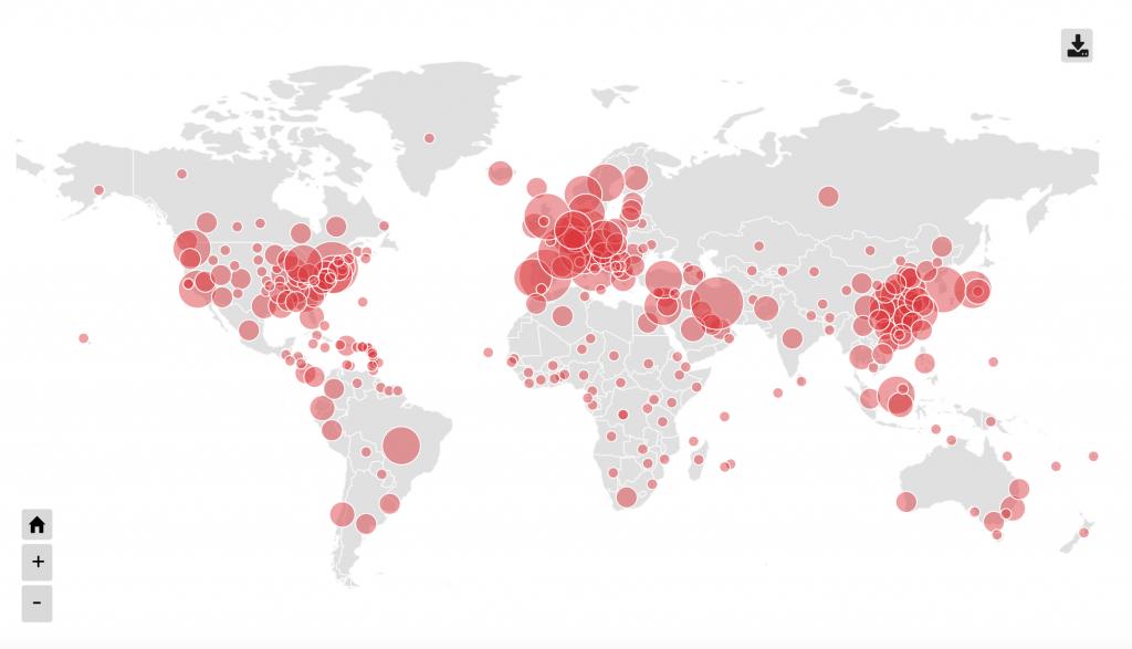 World Map Covid-19