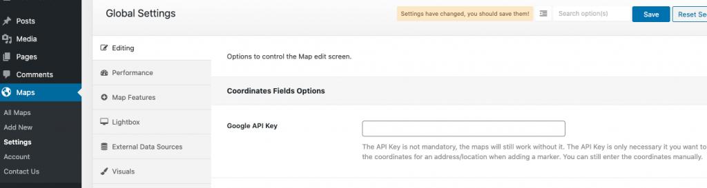 Getting a Google API Key