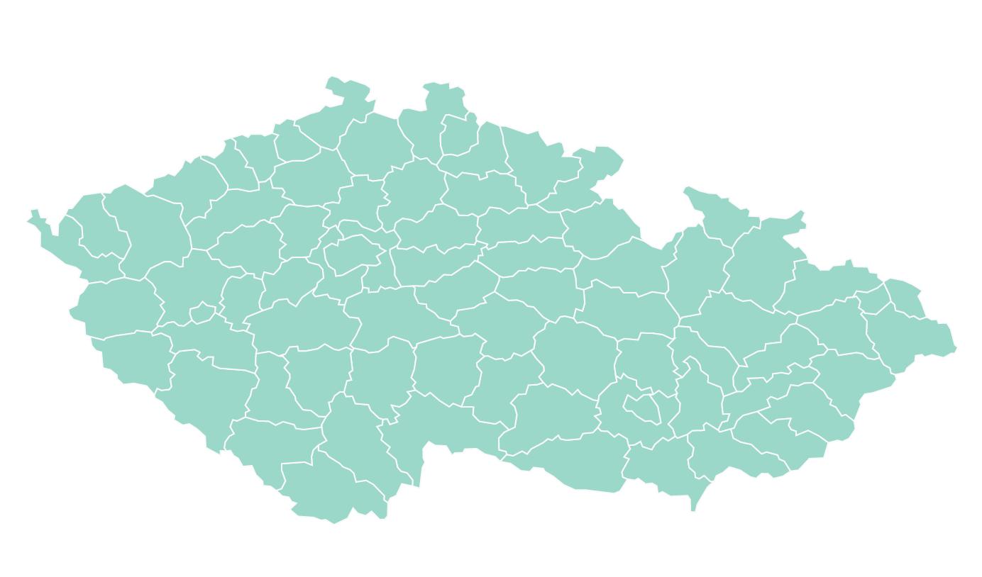 Czech Republic Map WordPress