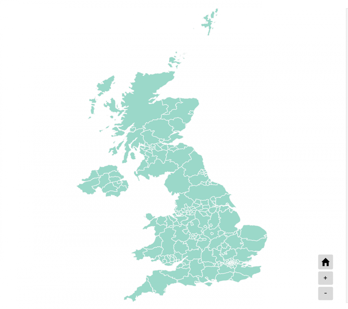 Counties and Unitary Authorities in the UK